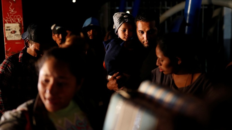 Migrants in Tijuana pressured on both sides of border