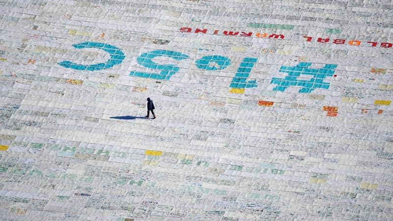 INSIGHT: Glacier gets climate change postcard