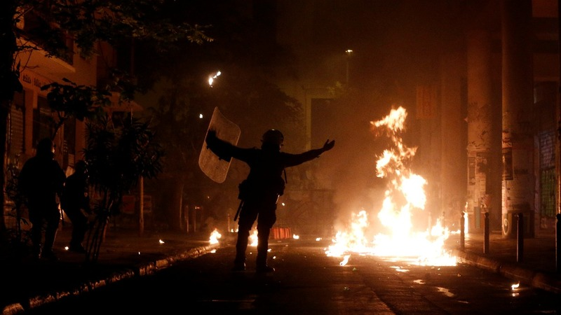 INSIGHT: Greek march breaks into clash with police