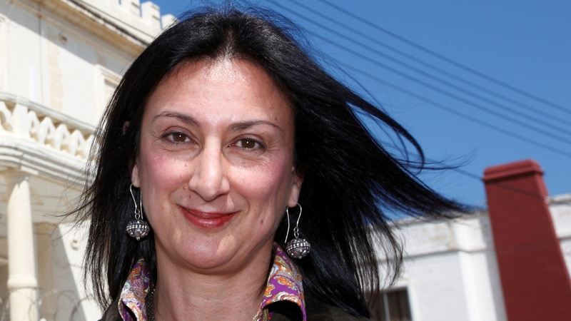 "Malta journalist murder masterminds ""identified"""