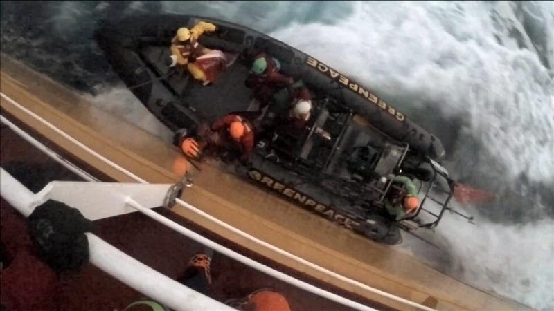 INSIGHT: Greenpeace boards palm oil tanker