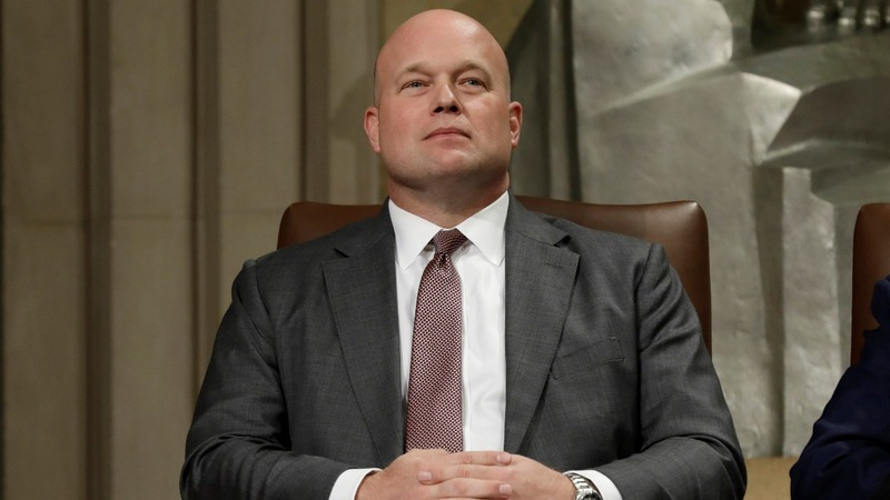 Trump would not intervene if Whitaker moved on Mueller
