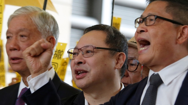Pro-democracy activists go on trial in Hong Kong