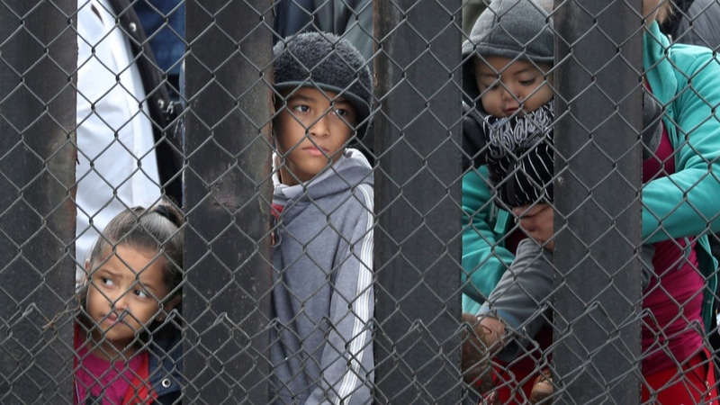 Federal judge weighs Trump's asylum order
