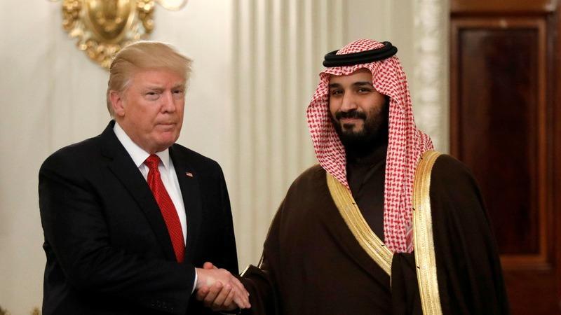 Trump faces pressure to break with Saudi prince