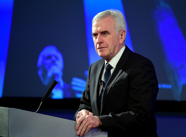 """""""We want a permanent custom union, full stop"""" UK Labour Party's McDonnell"""