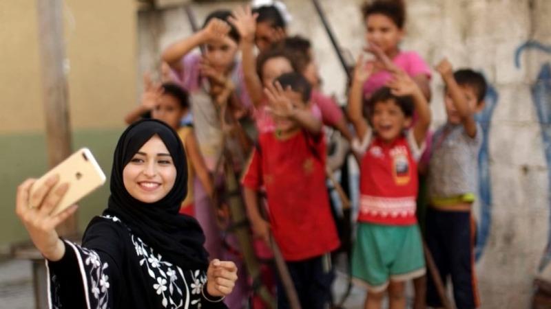 Israeli-Gazan life through Instagram's lens