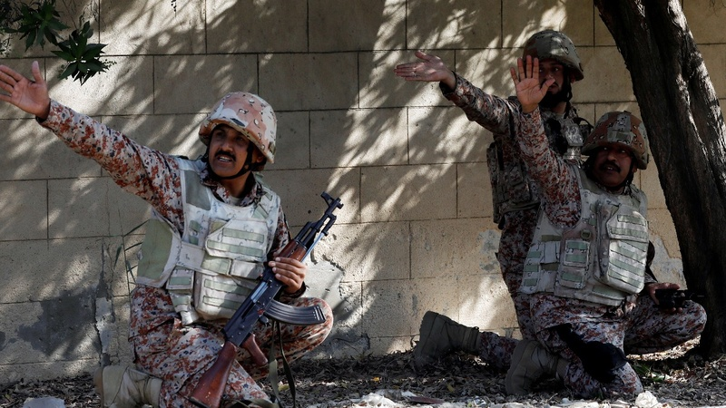 Rebels attack Chinese consulate in Pakistan