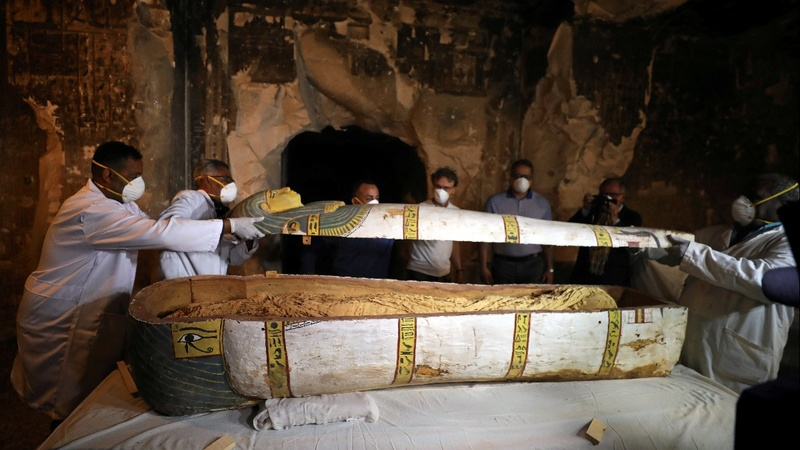 Mysteries unveiled in Egyptian tomb