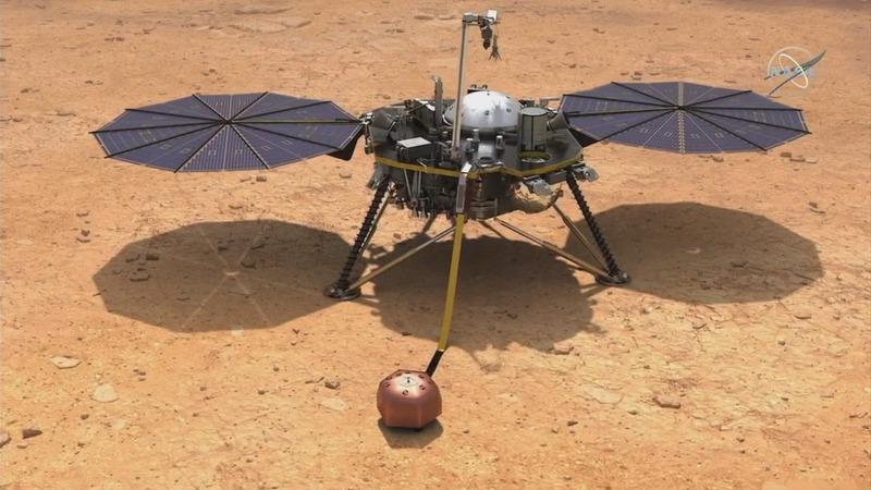VERBATIM: NASA 'excited, nervous' for Mars landing