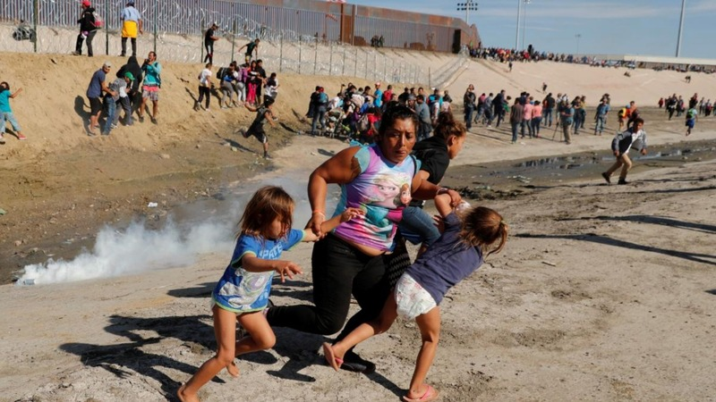 Chaos in Tijuana, after U.S.-Mexico border closure