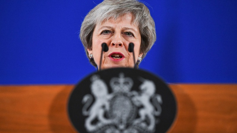 Theresa May starts the hard sell of Brexit deal