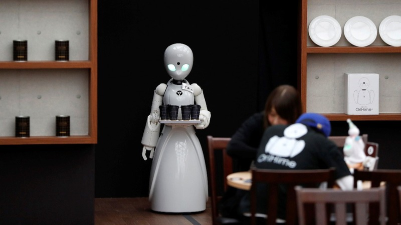 Robot cafe serves up jobs for people with disabilities