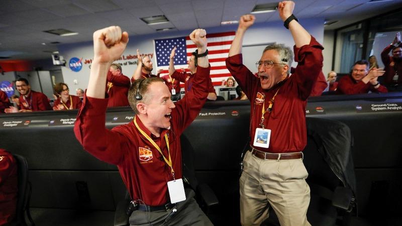 NASA's InSight lands on Mars in risky mission