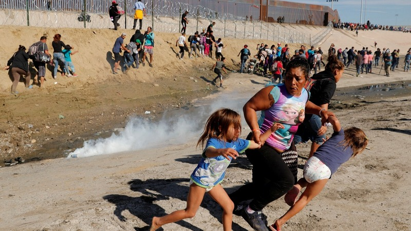 Tear-gassed migrant mother recounts U.S. border chaos