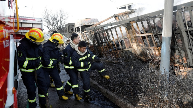 Blast kills at least 22 in northern China