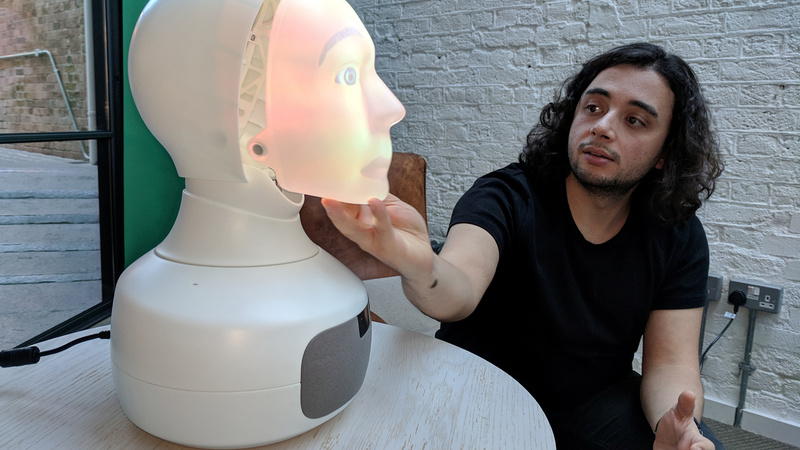 'Furhat' the robot's face-off with Alexa, Siri