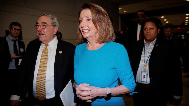 Pelosi wins House speakership nomination