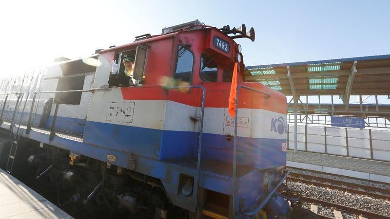 Inter-Korean railway link gets on track
