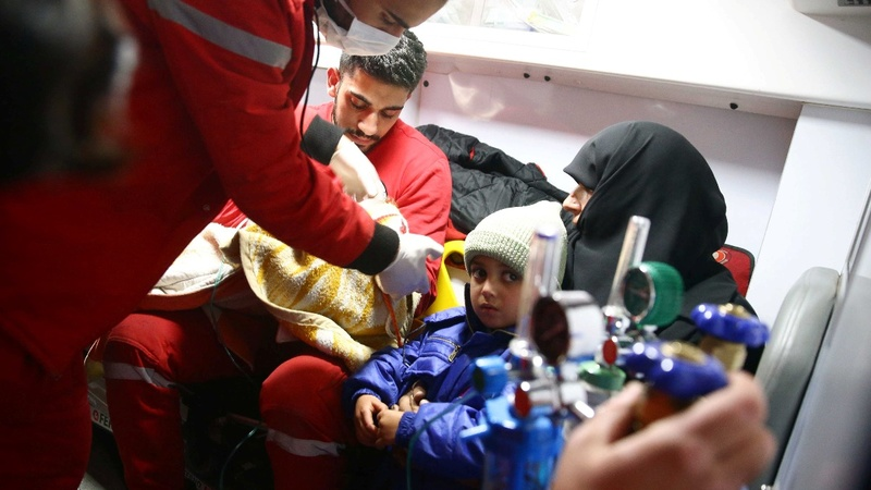 Ambulances 'repeatedly targeted' in Syria