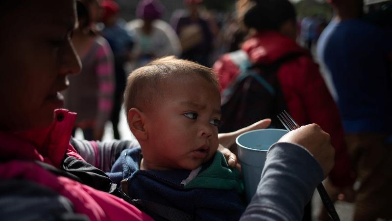 Migrants in Tijuana launch hunger strike
