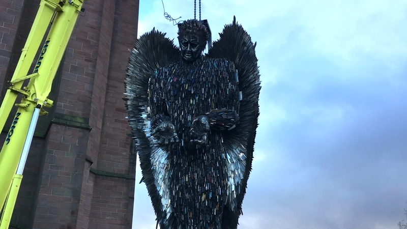 INSIGHT: 'Knife Angel' highlights UK crime