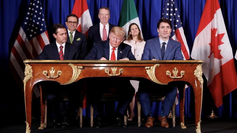 VERBATIM: U.S., Canada, Mexico sign trade deal