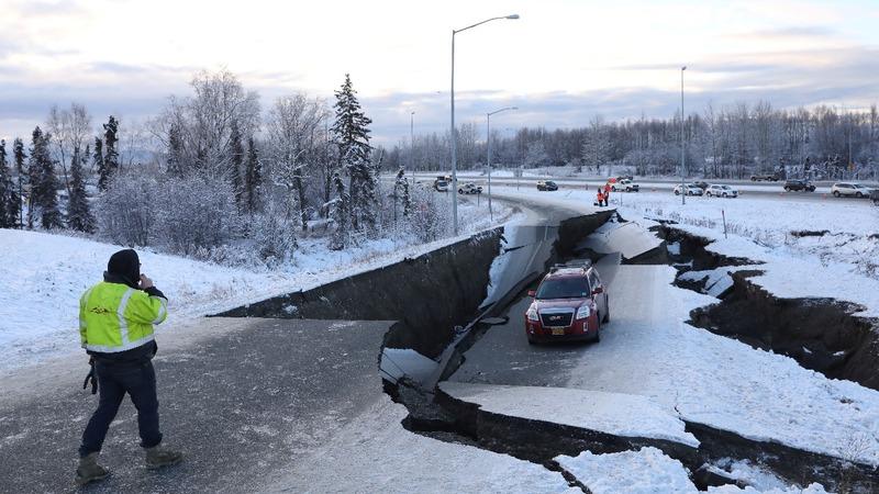 Alaska rocked by 7.0 earthquake