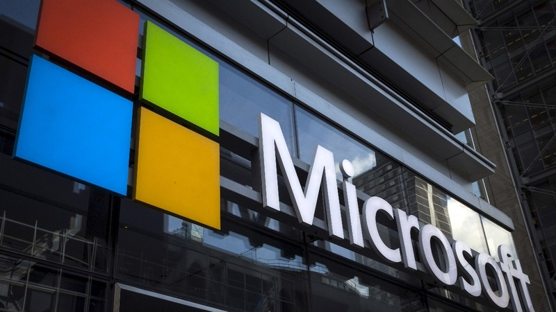 Microsoft tops Apple as most valuable listed company