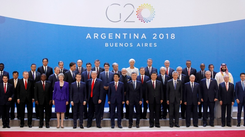 G20 leaders skirt trade tensions, back WTO reform