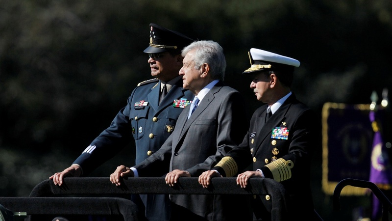 Mexico's new leader pushes military security plan