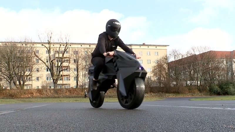 First 3D-printed motorbike unveiled