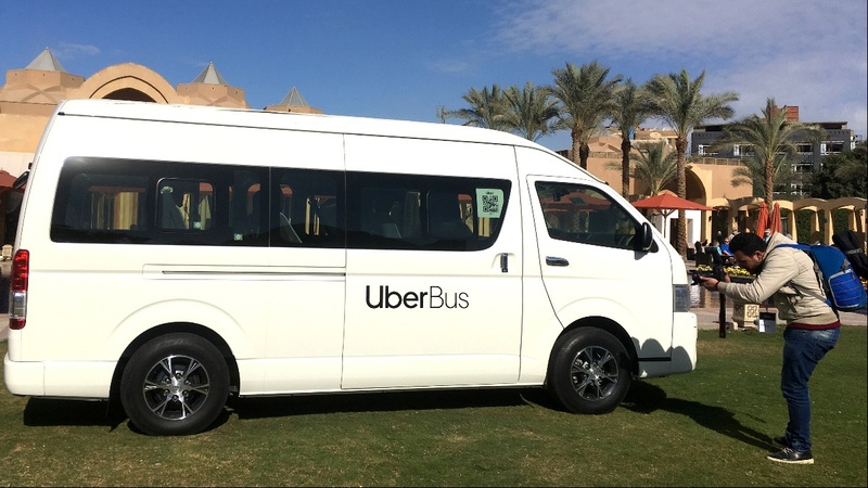 Uber launches bus-booking service in Cairo