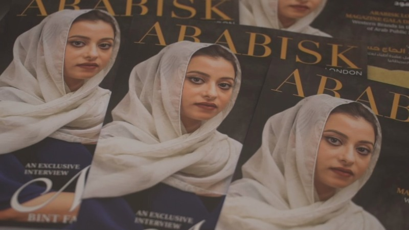 Syrian migrant creates magazine for Arabs in UK