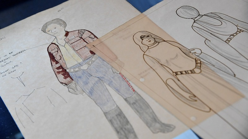 Star Wars original sketches could fetch $190,000