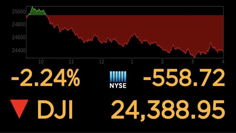 Stocks stumble as trade fears offset hiring data