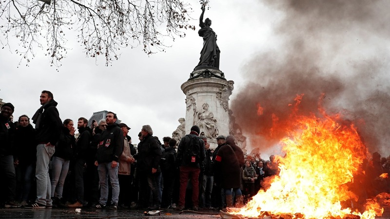 Paris braces for more violent weekend protests