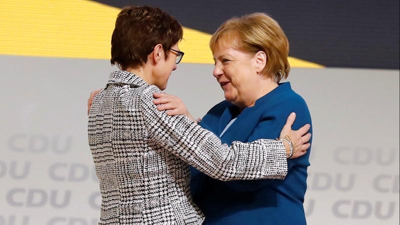 Angela Merkel's successor is named