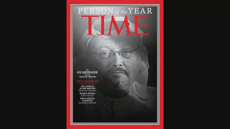 Journalists named Time person of the year