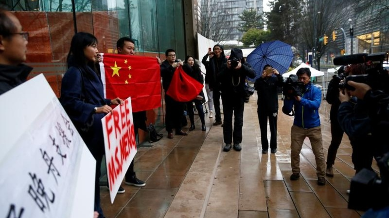 China's Huawei executive granted bail