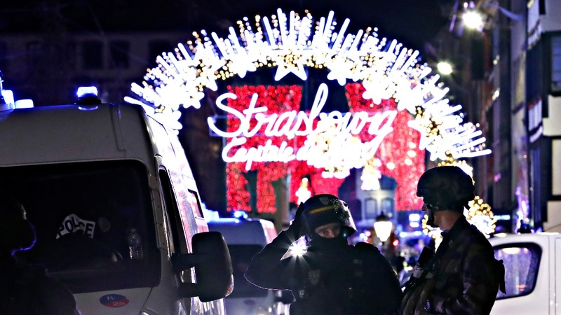 Gunman kills at least two in Strasbourg shooting
