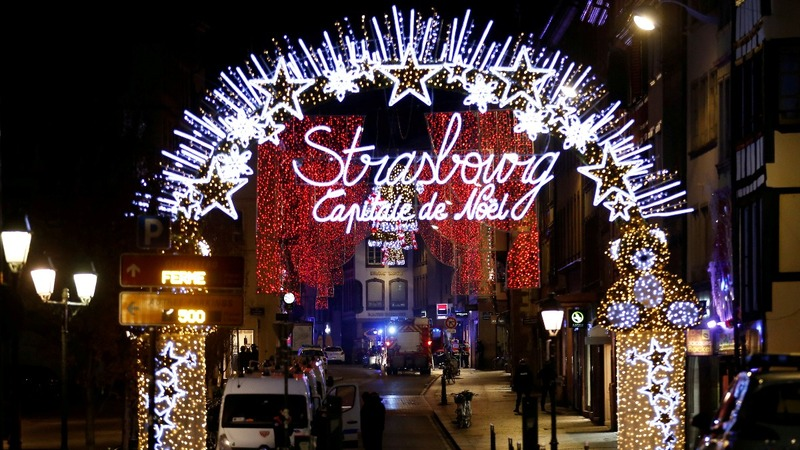 Gunman kills three at Strasbourg Christmas market
