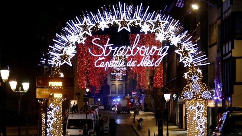 Gunman kills two at Strasbourg Christmas market