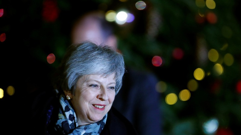 UK's May wins confidence vote