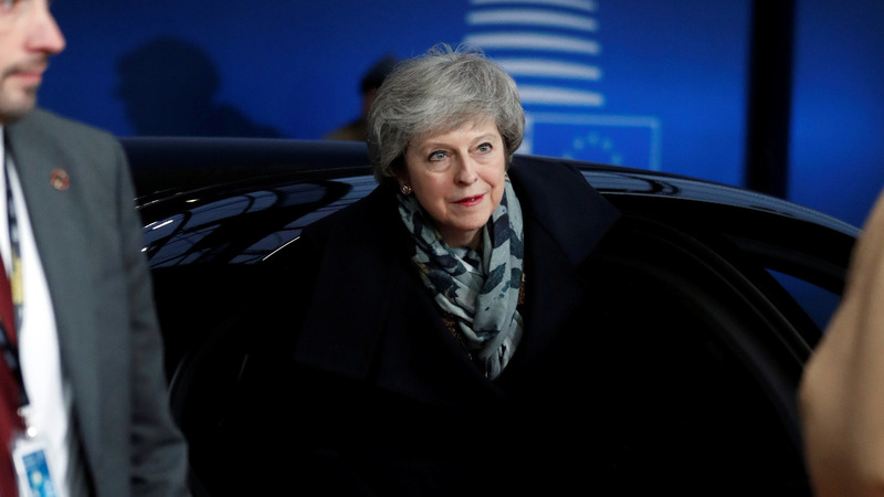 EU firmly rejects May's renegotiation efforts
