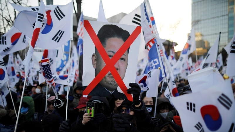 Protests in focus as Seoul readies for Kim visit
