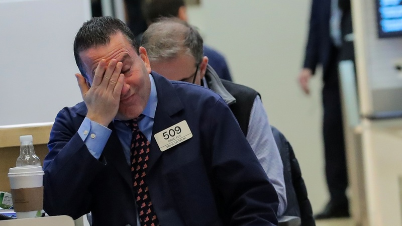 Stocks tank; investors look ahead to Fed meeting