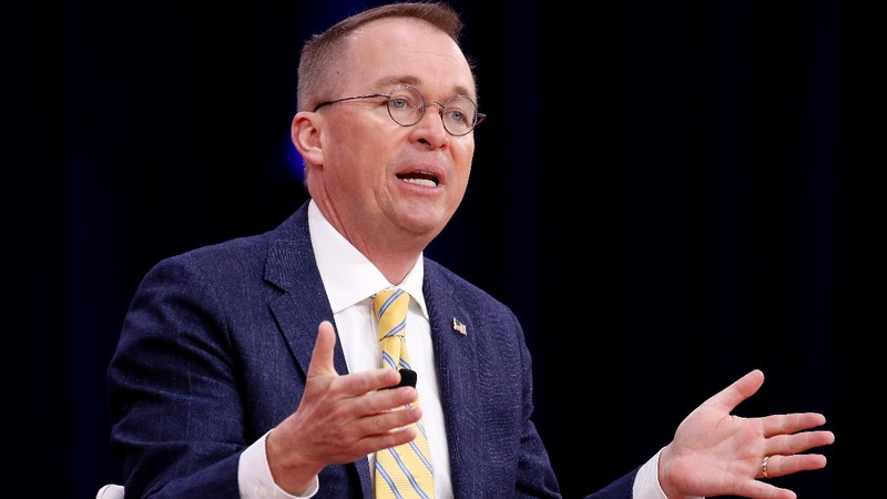 Trump names budget director Mulvaney to Chief of Staff