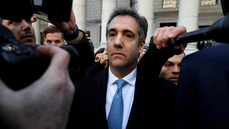 Trump calls ex-lawyer Cohen a 'rat'