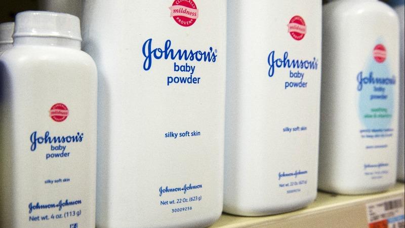 J&J shares continue to drop after asbestos report